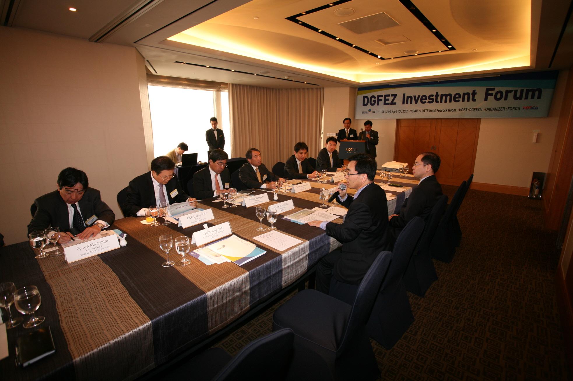 DGFEZ Investment Forum for Jap...