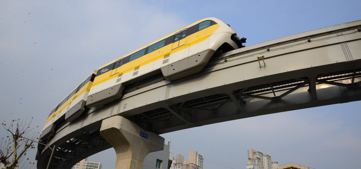 Daegu's Line 3 Monorail to open on April 23